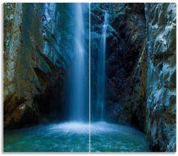 Herdabdeckplatte Wasserfall bei Sonneneinfall – Bild 1
