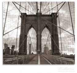 Herdabdeckplatte Brooklyn Bridge in New York – Bild 1