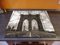 Herdabdeckplatte Brooklyn Bridge in New York – Bild 2