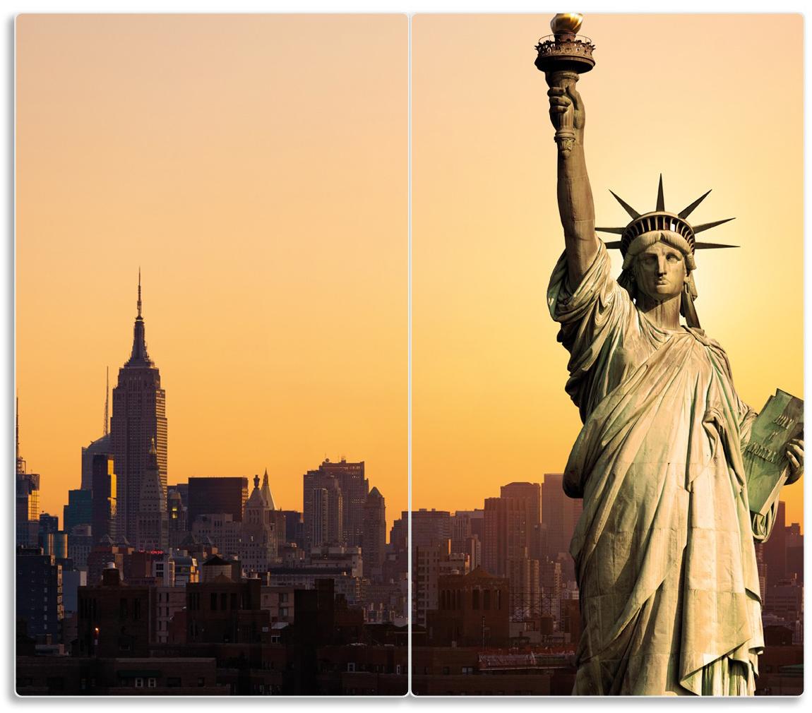Herdabdeckplatte Freiheitsstatue New York – Bild 1