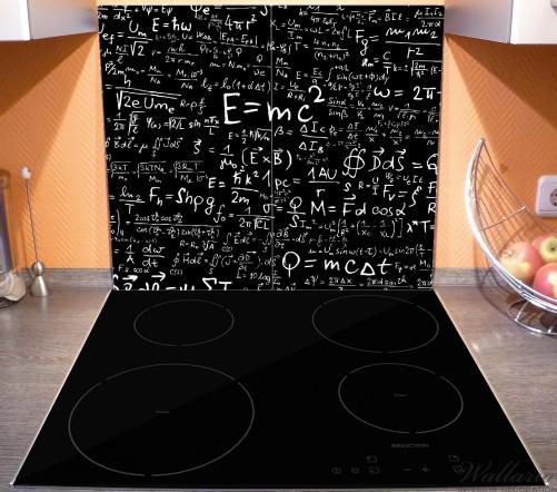 Herdabdeckplatte Mathematische Formeln – Relativitätstheorie – Bild 3