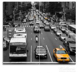 Herdabdeckplatte New York Yellow Taxi I – Bild 1
