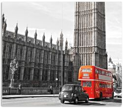 Herdabdeckplatte London Red Bus – Bild 1