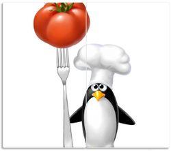 Herdabdeckplatte Pinguin Koch – Bild 1