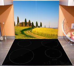 Herdabdeckplatte Villa in der Toskana – Bild 3