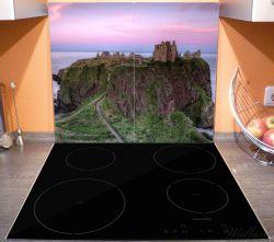 Herdabdeckplatte Schloss am Meer – Bild 3