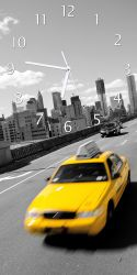 Uhr New York Yellow Taxi II