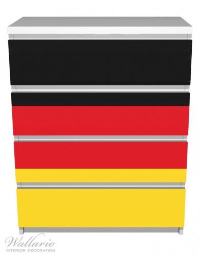 Möbelfolie Deutsche Flagge – Bild 2