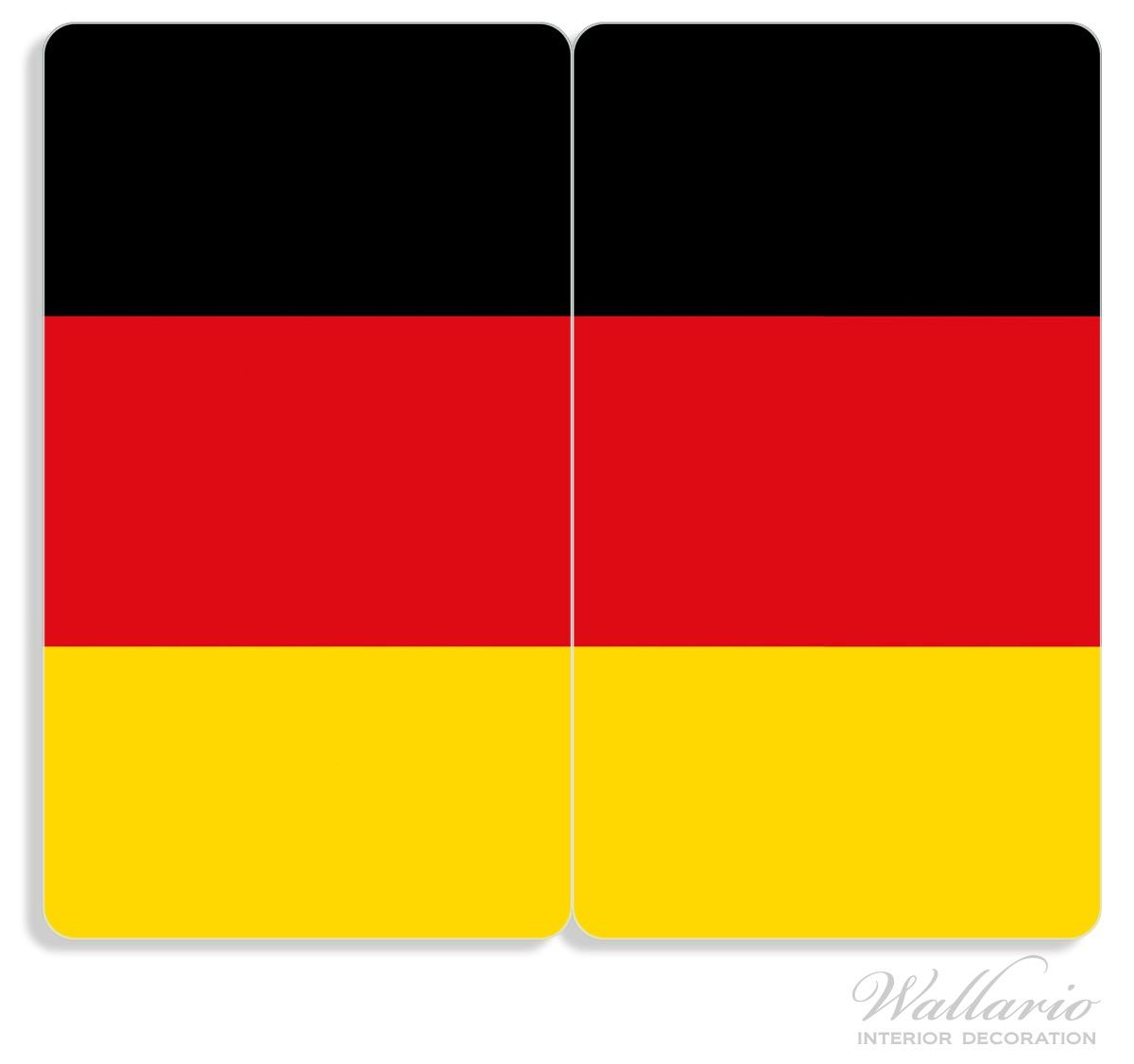Herdabdeckplatte Deutsche Flagge – Bild 1