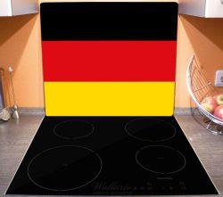 Herdabdeckplatte Deutsche Flagge – Bild 3