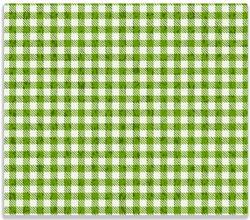 Herdabdeckplatte Muster einer Tischdecke in grün und weiß kariert – Bild 1