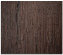 Herdabdeckplatte Holz-Optik Textur dunkelbraunes Holz – Bild 1