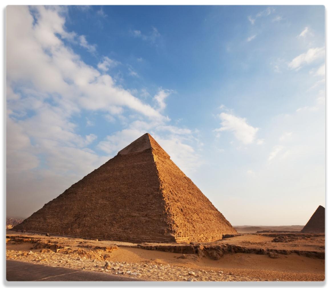 Herdabdeckplatte Alte Pyramide in Ägypten – Bild 1