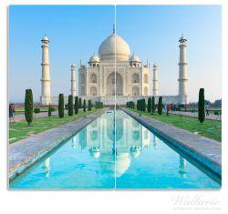 Herdabdeckplatte Taj Mahal - Mausoleum in Indien – Bild 1