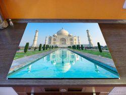 Herdabdeckplatte Taj Mahal - Mausoleum in Indien – Bild 2