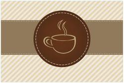 Vliestapete Kaffee-Menü - Logo Symbol für Kaffee – Bild 1