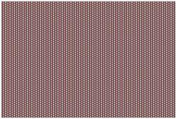 Vliestapete Muster Herzen in beig und rosa in Reih und Glied – Bild 1