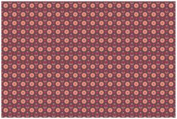 Vliestapete Muster mit Blumen und Herzen – Bild 1