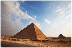 Vliestapete Alte Pyramide in Ägypten – Bild 1