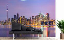 Vliestapete Toronto Skyline - Kanada am Abend – Bild 4