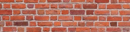 Küchenrückwand Rote Ziegelsteinwand - Backsteine