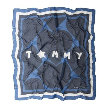 Tommy Hilfiger AW0AW04464 413 Tommy Hearts Scarf Schal – Bild 2