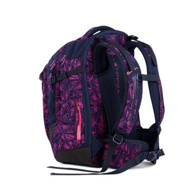 Satch SAT MAT 001 9K8 Schulrucksack Pink Bermuda – Bild 4