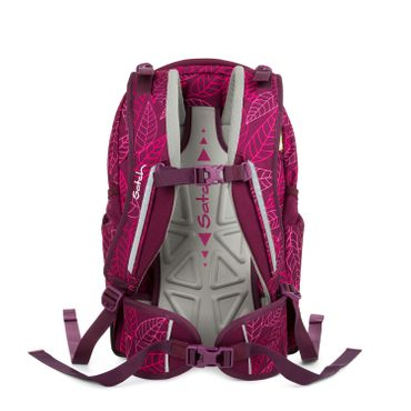Satch Sleek Schulrucksack Purple Leaves  – Bild 8