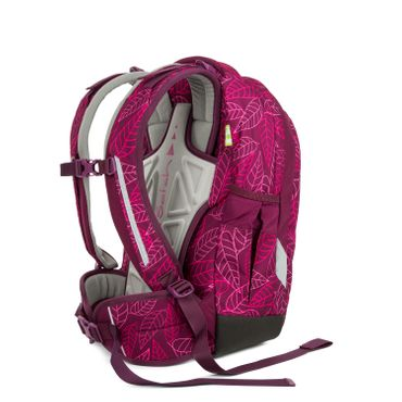 Satch Sleek Schulrucksack Purple Leaves  – Bild 6