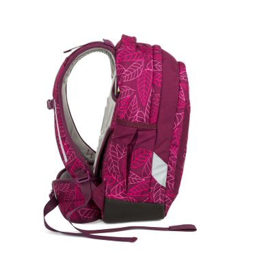 Satch Sleek Schulrucksack Purple Leaves  – Bild 5