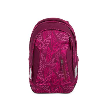 Satch Sleek Schulrucksack Purple Leaves  – Bild 1