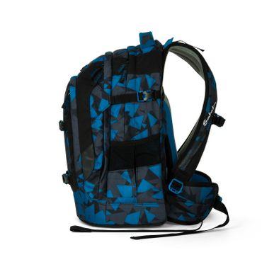 Satch Pack Schulrucksack Blue Triangle – Bild 3