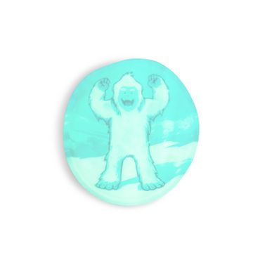 ergobag KLE-CUS-001-056 Yeti  Glow in the Dark Klettie