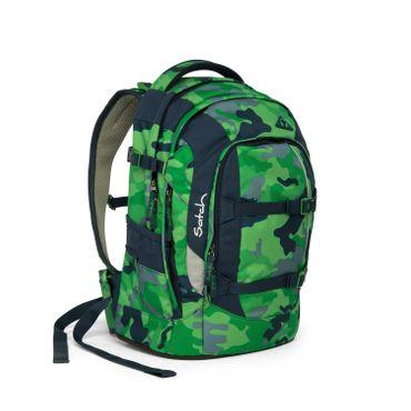 Satch SAT SIN 001 9D8 Pack Schulrucksack Green Camou – Bild 5