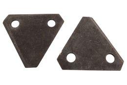 Rasenmäher Ersatzklingen (2x) passend Brill MulchCut 46 BR V12  Rasenmäher