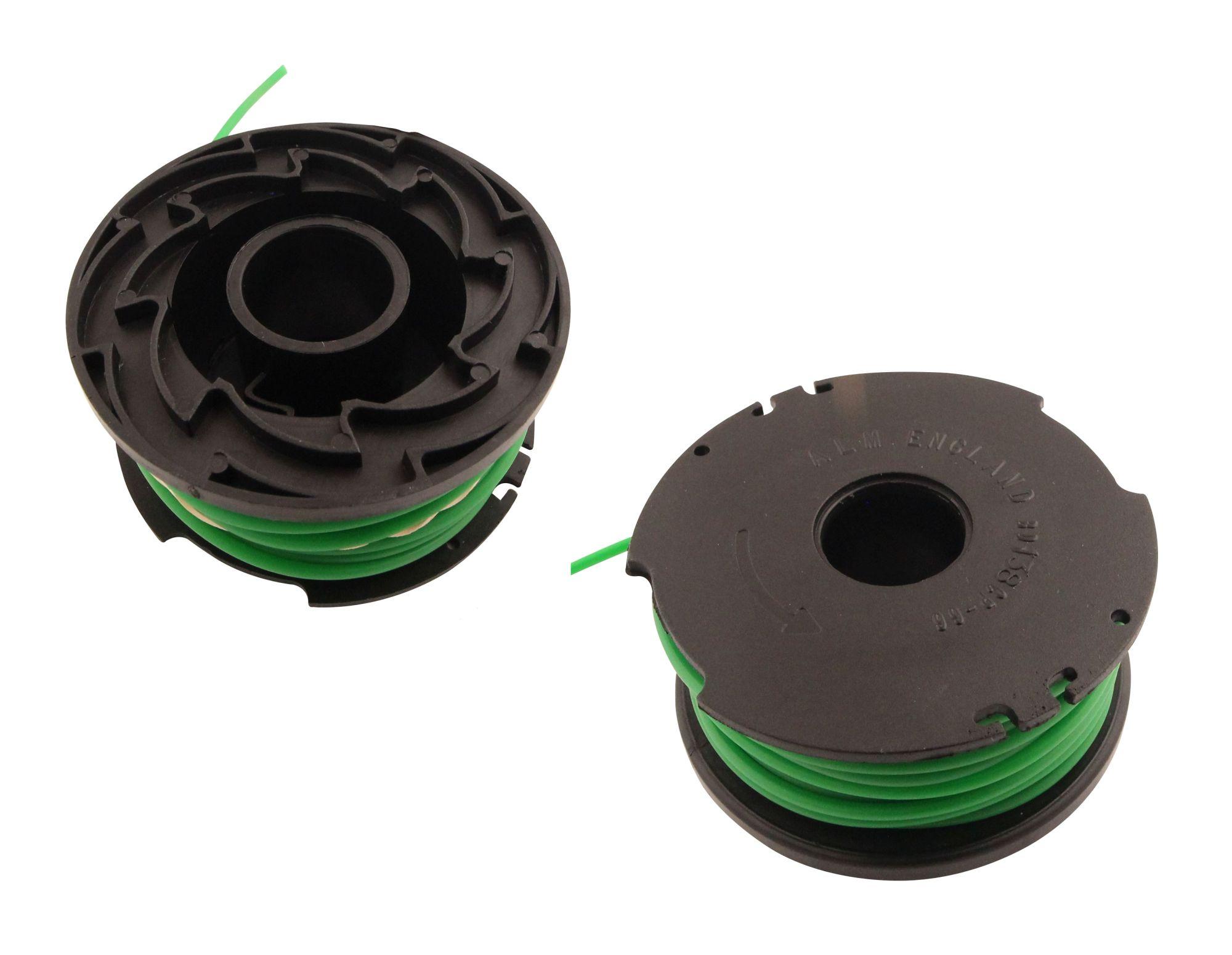Fadenspule 1,6mm 2er Set passend Black/&Decker GL550 Freischneider