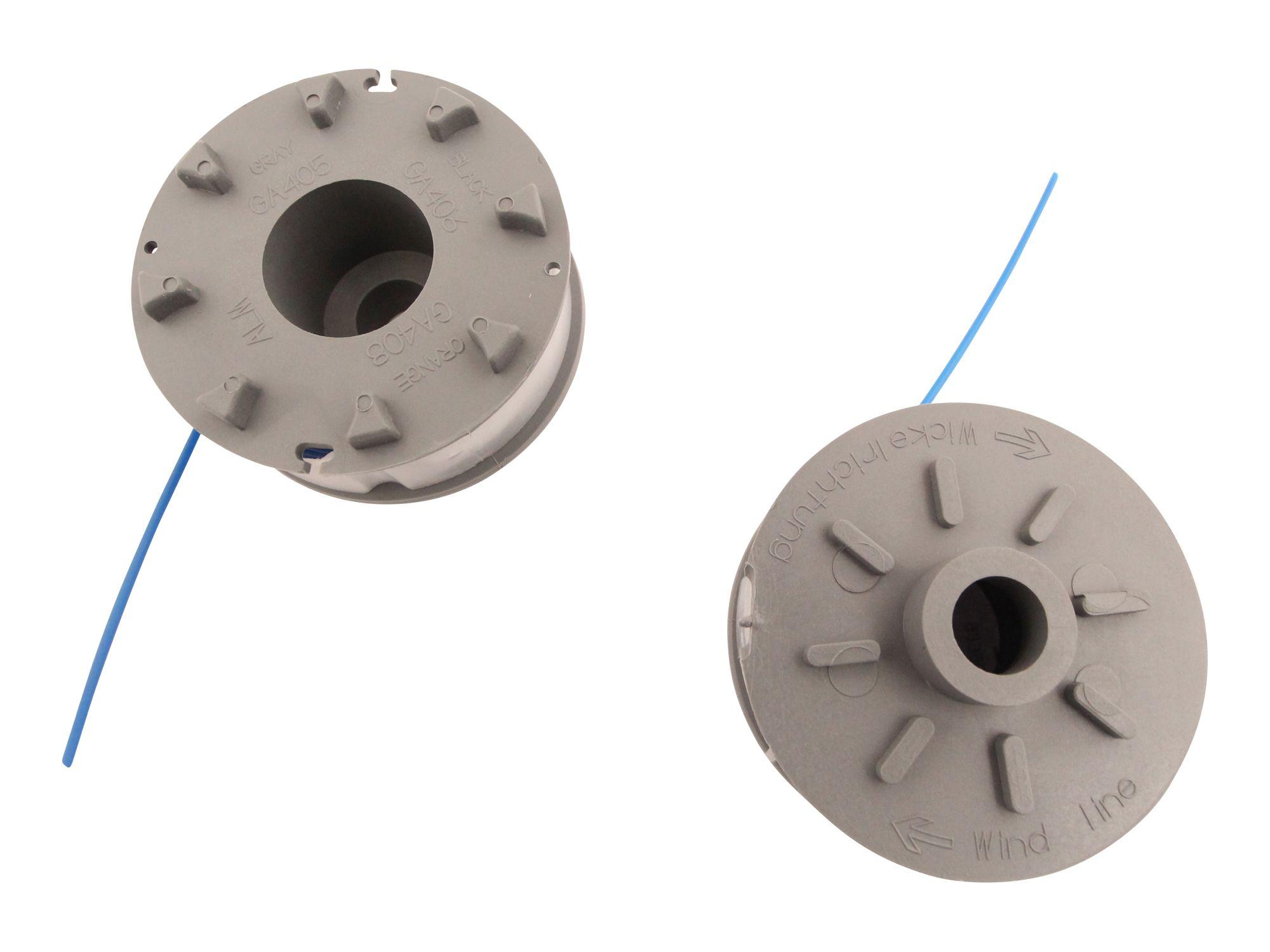2er Set passend Gardena Turbotrimmer 200 Freischneider Fadenspule 1,6mm