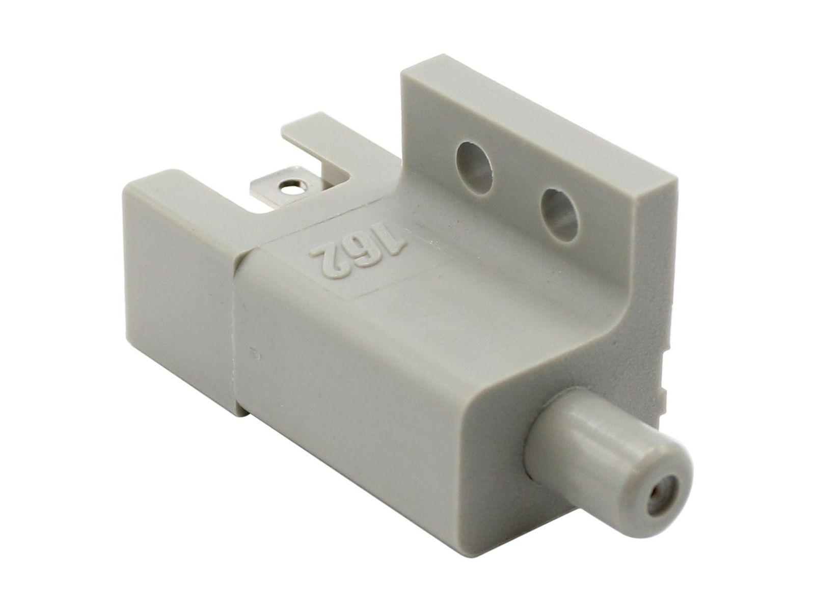 """RAFI 110102001 Drucktaster gn//sw 250 V 1x S  /""""Ein/""""  Lötösen 1.110.102"""