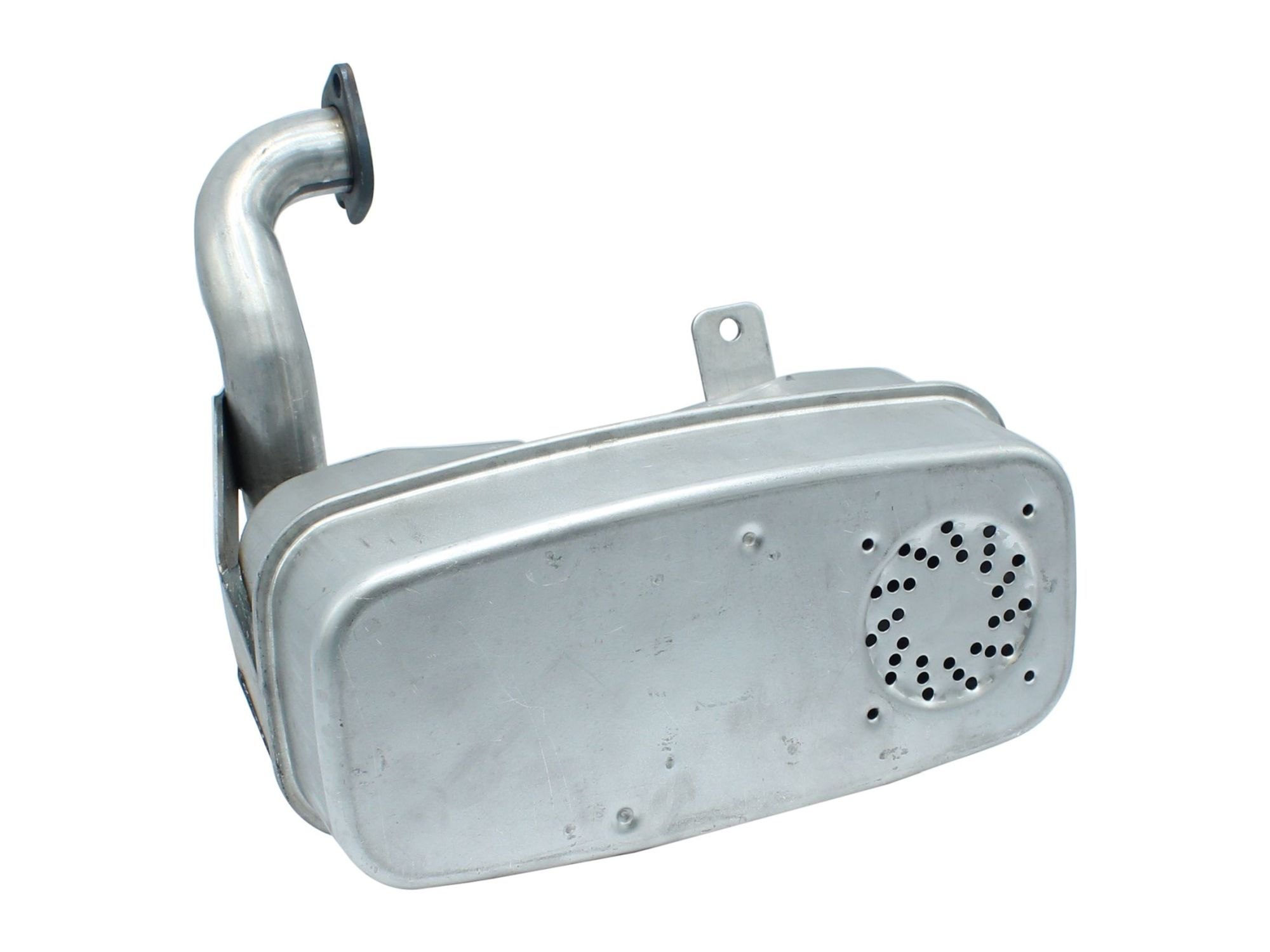 Rasenmäher Auspuff //Schalldämpfer für STIHL 024 026 MS260 aus Stahl,