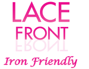 Lace Front Iron Friendly