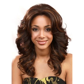 Bobbi Boss Lace Front Wig MLF14S PEARL-SHORT Perücke Lace Wig with Swiss Lace