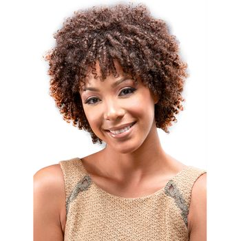 Bobbi Boss IndiNatural Perfect Trio - KOILS CURL 3 pieces of 8'' Echthaar Tresse 100% Human Hair Weave
