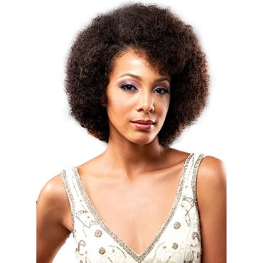 Bobbi Boss IndiNatural Perfect Trio - AFRO CURL 3 pieces of 8'' Echthaar Tresse 100% Human Hair Weave