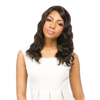 Sensationnel BRAZILIAN - Natural Loose Deep Bare & Natural Echthaar Perücke 100% Human Hair Lace Wig