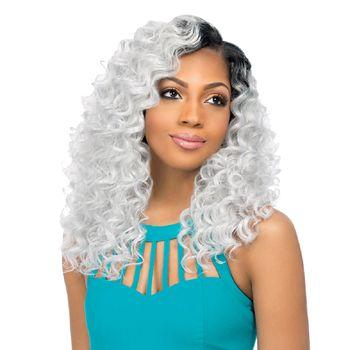 Sensationnel Premium Too Multi Length - Loose Twist 5 pieces of 12', 14', 16' Tresse Human Hair Blend Weave