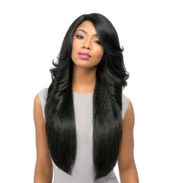 Sensationnel Empress front edge PERM WEDGE CUSTOM WIG Perücke Lace Wig