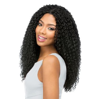 Sensationnel Empress front edge BEACH CURL CUSTOM WIG Perücke Lace Wig
