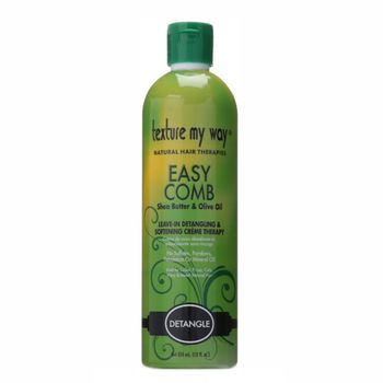 Texture my Way Easy Comb Leave-In Detangling & Softening Creme Therapy 12oz 355ml