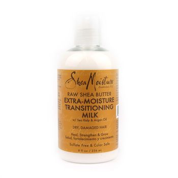 Shea Moisture Raw Shea Butter Extra-Moisture Transitioning Milk 8oz 236ml