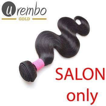 Urembo Gold 100% Brazilian Remy Human Hair Extension Body Wave Weave / Tresse 100g Echthaar